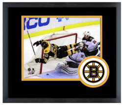 Seth Griffith 2014-15 Boston Bruins - 11 x 14 Team Logo Matted/Framed Photo - $43.95