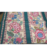 "4+ Yds x44"" Fabric, Polished Cotton,  Stylized Paisley-Like Floral Patte... - $8.99"