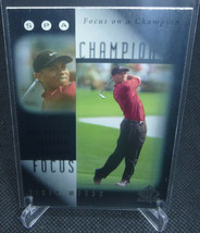2001 Upper Deck SP Authentic Golf Tiger Woods Rookie Card #FC8 - $4.94