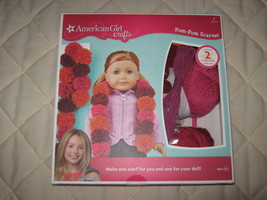 "american girl crafts ""pom-pom scarves"" - $9.00"