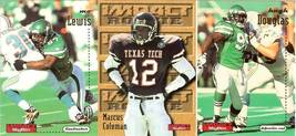 1996 skybox hugh douglas mo lewis marcus coleman new york jets 3 football cards - $1.99