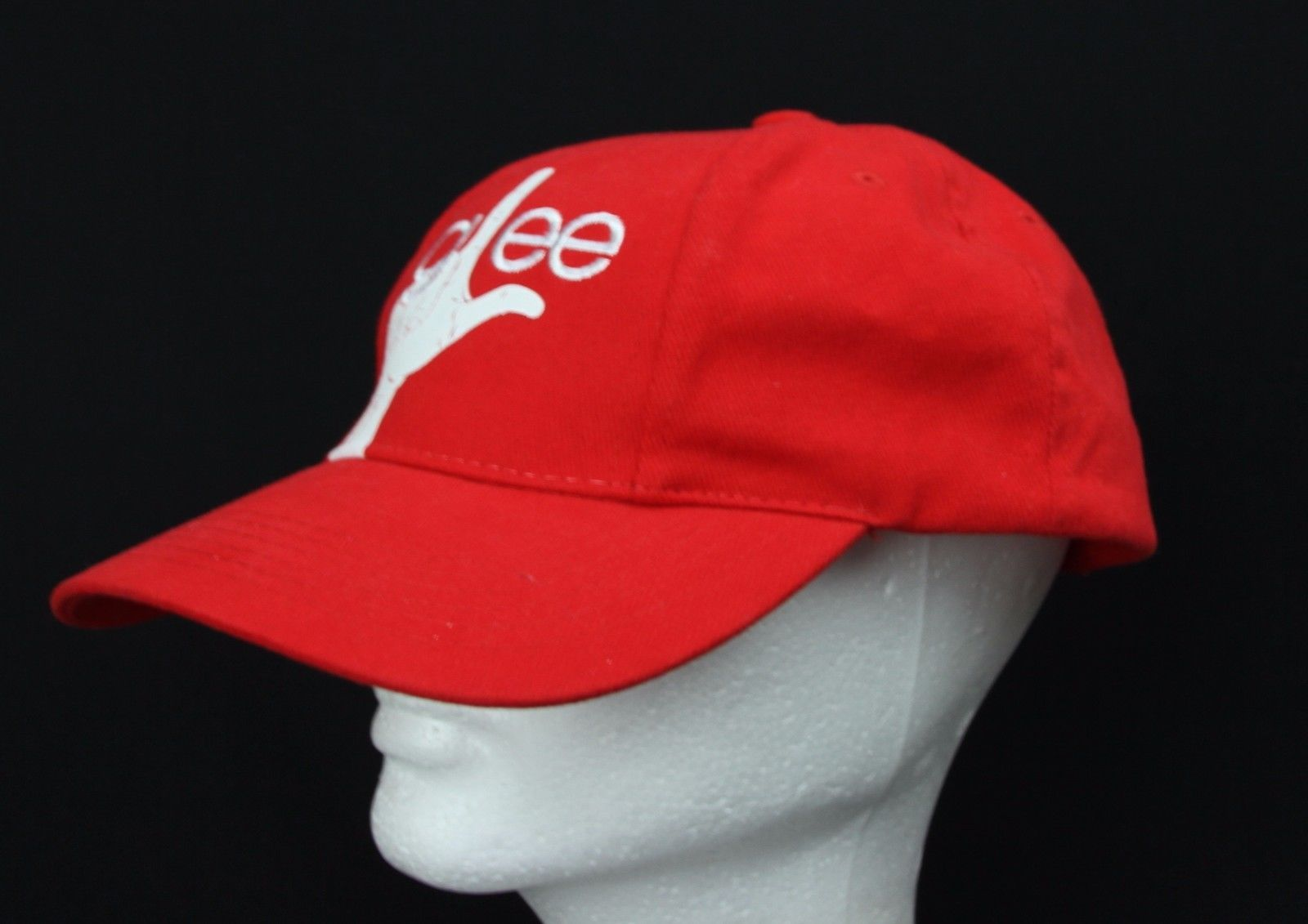 Glee Fox Musical Television Show Crew Member Baseball Hat Red Cotton Adjustable