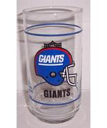 NFL New York Giants Collectible Tumbler Paraglazed Glass(New) - $18.09