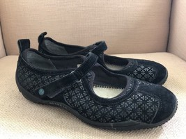 Merrell Circuit Mary Jane Black Print Sport Flats Shoes US 9 - $27.74