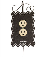Needle and Thread Single Outlet Cover charcoal Ackfeld Mfg.  - $12.50