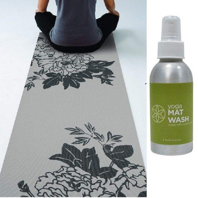 Gaiam Yoga Mats Pilates Fitness Gym Thick 3 mm Sport Exercise ( Free Mat Wash )