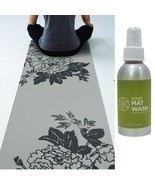 Gaiam Yoga Mats Pilates Fitness Gym Thick 3 mm Sport Exercise ( Free Mat... - £29.63 GBP