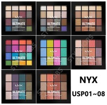 NYX ULTIMATE (MULTI-FINISH) SHADOW PALETTE USP01~08 - $14.80+