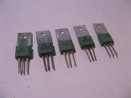 Qty 5 GE General Electric D43C5 PNP Silicon Si Transistors - NOS - $11.39