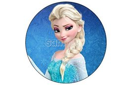 Frozen Anna Elsa Olaf 12ct. EDIBLE IMAGE CUPCAKE TOPPERs DECORATION pict... - $8.54