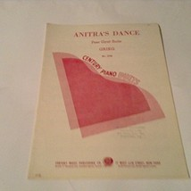 Anitra's Dance Sheet Music [Sheet Music] By Peer Gynt Suite - $15.61