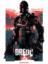 Dredd 2012 Movie Karl Urban 24x18 Wall Print POSTER - $9.95