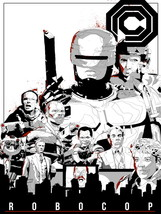 Robocop 1987 Movie Characters OCP ED-209 Alex M... - $9.95