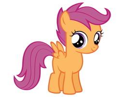 Scootaloo My Little Pony Friendship Is Magic Cu... - $13.95