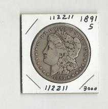 Wild West Era 1891 S Morgan Silver Dollar - # 112211 - $48.00