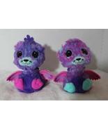 Hatchimals Surprise Peacat Twins Interactive Creatures Pink Blue Purple ... - $59.39