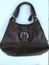 Coach Hobo Bag Satchel F15075 Leather Purse Shoulder Bag Lynn Soho Brown... - $39.99