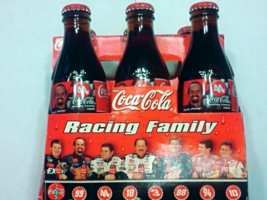 1999 Kyle Petty #44 Coca Cola The Racing Family 5 Pack Coke Soda Bottles... - $17.99