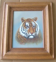 "ORIGINAL ""BENGAL TIGER"" OIL ART PAINTING BY WATSON - $484.14"