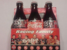 1998 TODD BODINE #35 THE COCA COLA RACING FAMILY 4 PACK COKE BOTTLES UNO... - $19.99