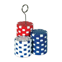 Beistle Poker Chips Photo/Balloon Holder 6 Oz- Pack of 6 - ₨2,467.69 INR