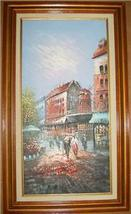 ORIGINAL FRENCH IMPRESSIONIST OIL PAINTING BY JOYCE - $866.49