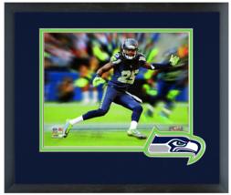 "Richard Sherman 2014 Seattle Seahawks-11 x 14 Matted/Framed ""Motion Blas... - $836,92 MXN"