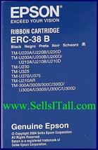 Brand NEW Genuine Epson ERC-38 B Robbon Cartridge ERC38B - $6.95