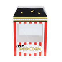 "Beistle Popcorn Machine Centerpiece 15 1/4"" x 8 1/4"" x 10 1/2""- Pack of 12 - $76.96"