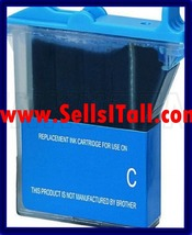 Brand NEW Compatible LC-21C Cyan Cartridge for Brother MFC-3100C, MFC-32... - $6.49
