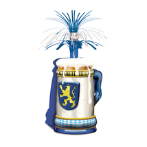 "Beistle Oktoberfest Centerpiece 15""- Pack of 12 - $50.19"