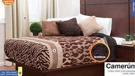 Camerun Coral Print, Curtains and Accessories Queen / King - $159.44