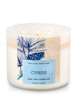 Bath & Body Works CYPRESS Candle 14.5 oz / 411 g - $44.99