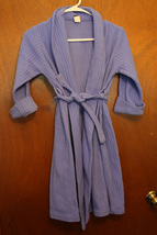 Lands' End Periwinkle Girls Robe - Size 7 Large - $11.99