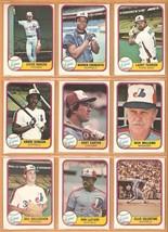 1981 Fleer Montreal Expos Team Lot 26 Diff Gary Carter Andre Dawson Dick William - $3.50
