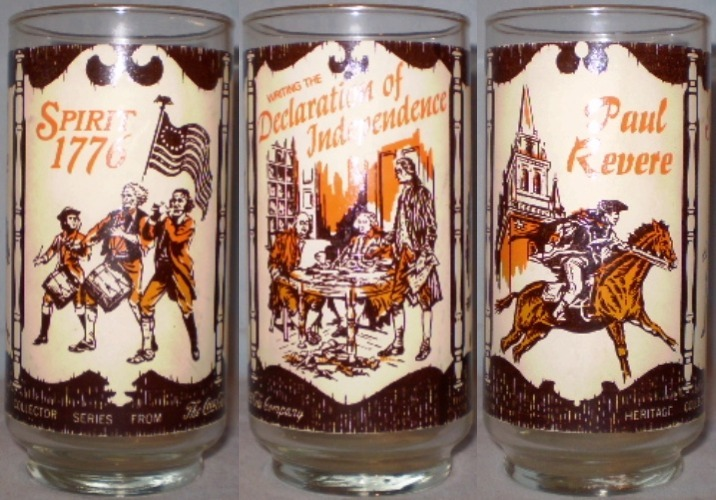 Coca cola glass heritage collector 2