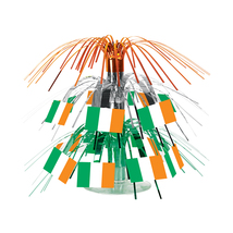 "Beistle Irish Flag Mini Cascade Centerpiece 7 1/2""- Pack of 12 - $42.05"