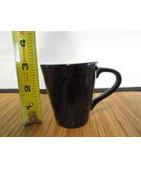 2013 Starbucks DEMI Demitasse 3 oz Espresso Coffee Tea Cup Mini Mug Black - $9.99