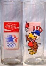 Coca~Cola Glass Olympics Sam the Olympic Eagle - $10.00