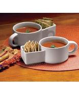 Soup and Cracker Mugs 2Piece Set - $18.95