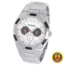 FOSSIL BQ9310 Men Round DIVER Watch Stainless Steel Bracelet Silver Dial + Date - $205.92