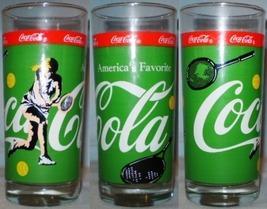 Coca~Cola Glass Sports Tennis - £5.86 GBP