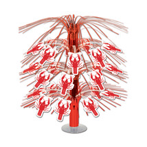 "Beistle Crawfish Cascade Centerpiece 18""- Pack of 6 - $36.64"