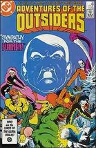 DC ADVENTURES OF THE OUTSIDERS #35 VF - $0.79