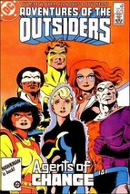 DC ADVENTURES OF THE OUTSIDERS #36 VF - $0.79
