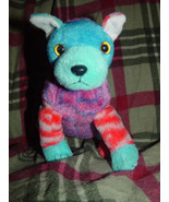 TY Beanie Baby  Hodge-Podge Blue- Red Dog - Puppy 2002 - $19.00