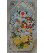 Valentine, B. Shackman, Victorian Reproduction w/Envelope - $4.00