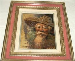 ORIGINAL SIGNED ASIAN ORIENTAL PAINTING BY MAITREE - $484.14