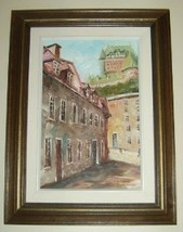 ORIGINAL SIGNED EUROPEAN OIL PAINTING BY BONET ... - $386.99