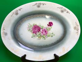 Beautiful Antique (1912) Homer Laughlin Genesee Line 16 Inch Platter - $5.95